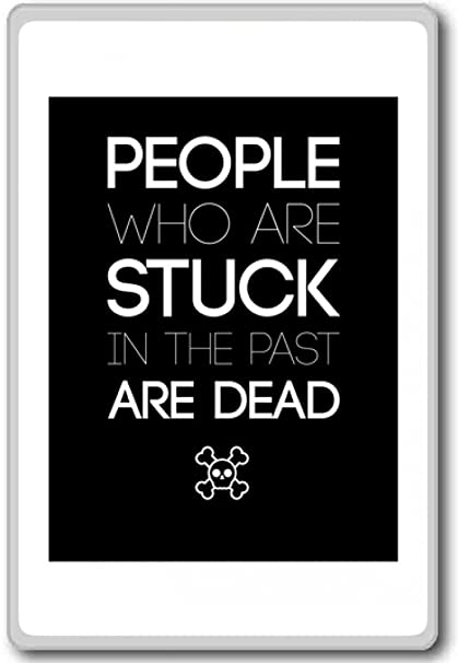Amazoncom People Who Are Stuck Motivational Quotes Fridge Magnet