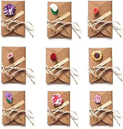 floral cards for bouquets stationery set simple gift wrapping Cute mini cards blank thank you cards tiny envelope cards with envelopes
