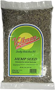 Volkman Sterilized Hemp Seed for All Seed Eating Birds