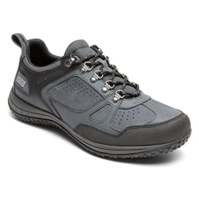 Rockport Men Walk360M Toe Guard Oxford Shoe,Dark Shadow/Griffin/Black 2,
