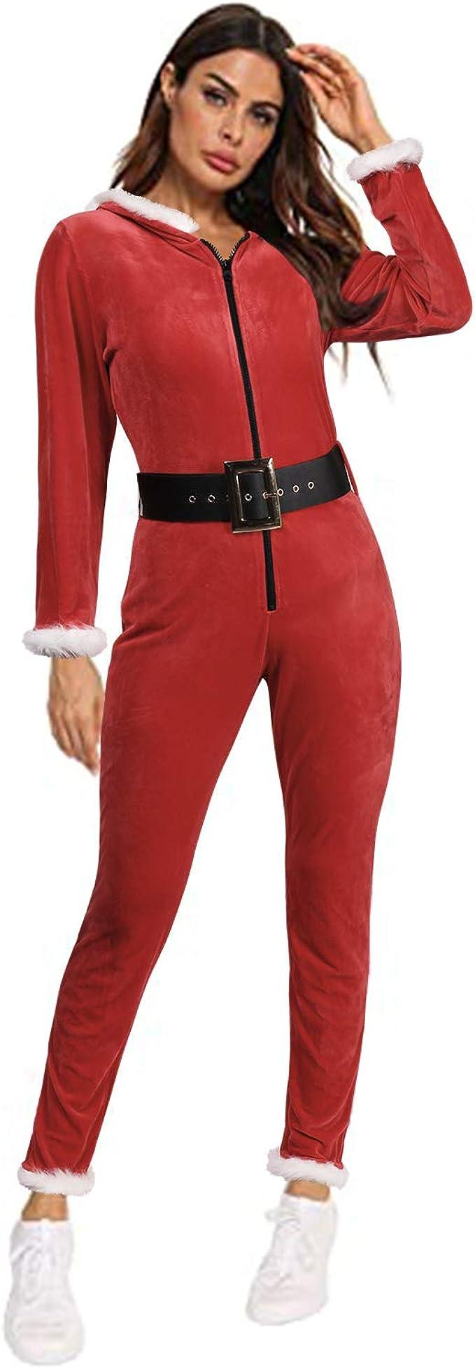 GIKING Onsies ropa de dormir feo Navidad pijama con capucha ...