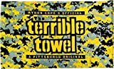 Pittsburgh Steelers Digital Camo Terrible Towel by Steelers Wholesale