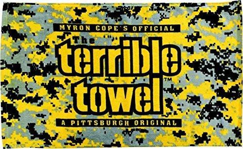(Pittsburgh Steelers Digital Camo Terrible Towel by Steelers Wholesale)