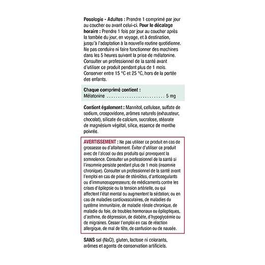 Amazon.com: Jamieson Melatonin 5mg Fast Dissolving Tablets 100 Count: Health & Personal Care