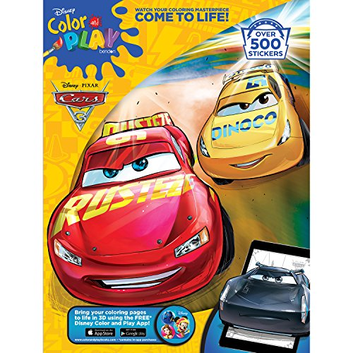 Bendon Cars 3 32-page Giant Sticker Activty Book (Tow Mater Game)