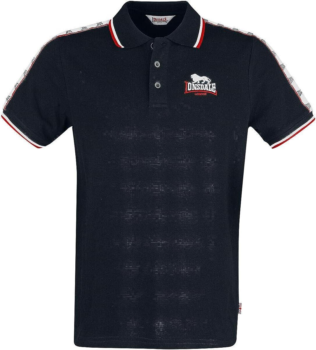 Lonsdale Hunstanton Camisa Polo para Hombre