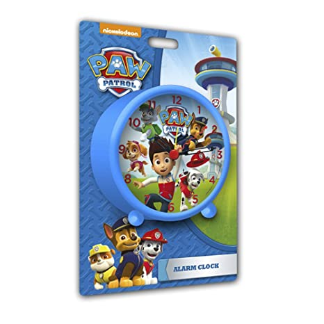 Patrulla Canina Despertador Color Azul Kids Euroswan PW16022
