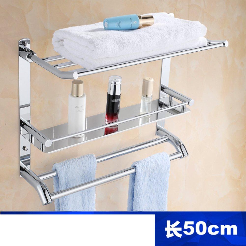 70%OFF Bathroom racks/Stainless steel Towel rack/the shelf in the bathroom