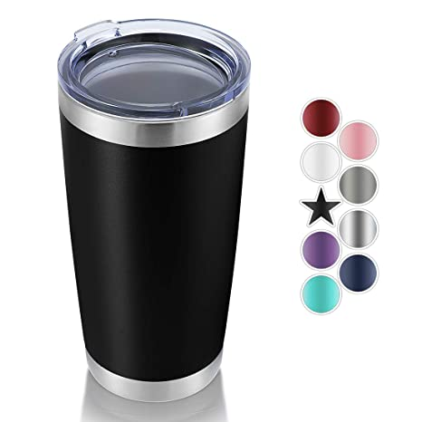 Amazon.com: Domicare - Vaso de acero inoxidable con tapa ...