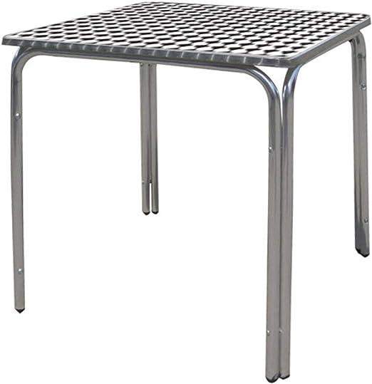 Papillon 8042010 8042010-Mesa para terraza de Aluminio, 60 x 60 ...
