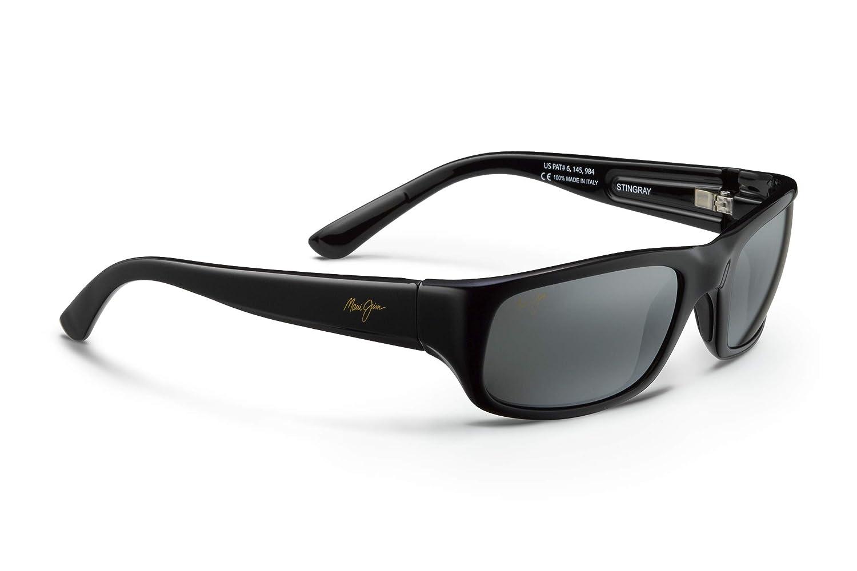 Amazon.com: Maui Jim Stingray 103-02 | Sunglasses, Gloss ...