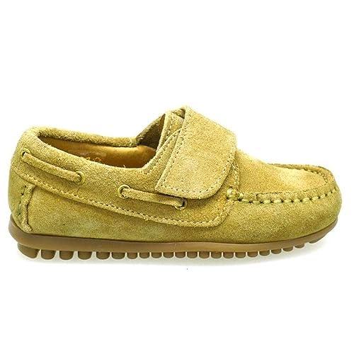 Zapatos Niño Mocasines Naúticos Chiquimoc B112 Arena: Amazon.es: Zapatos y complementos