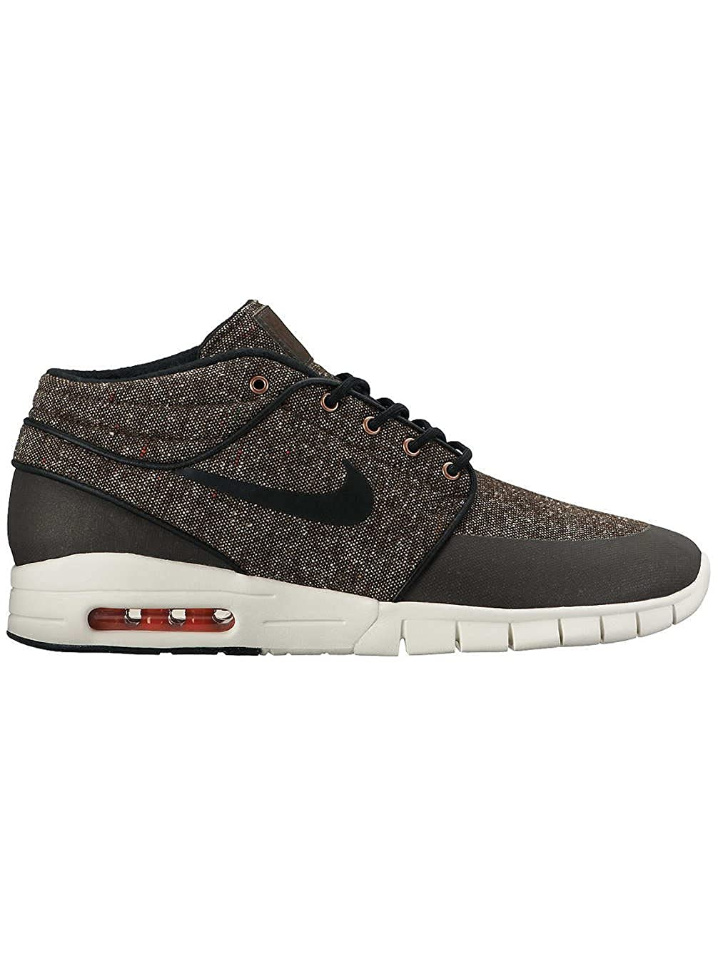 wholesale dealer 3646e ee8dc Nike Stefan Janoski Max Mid Shoe - Mens Baroque Brown Laser  Crimson sail Black (11. 5)  Buy Online at Low Prices in India - Amazon.in