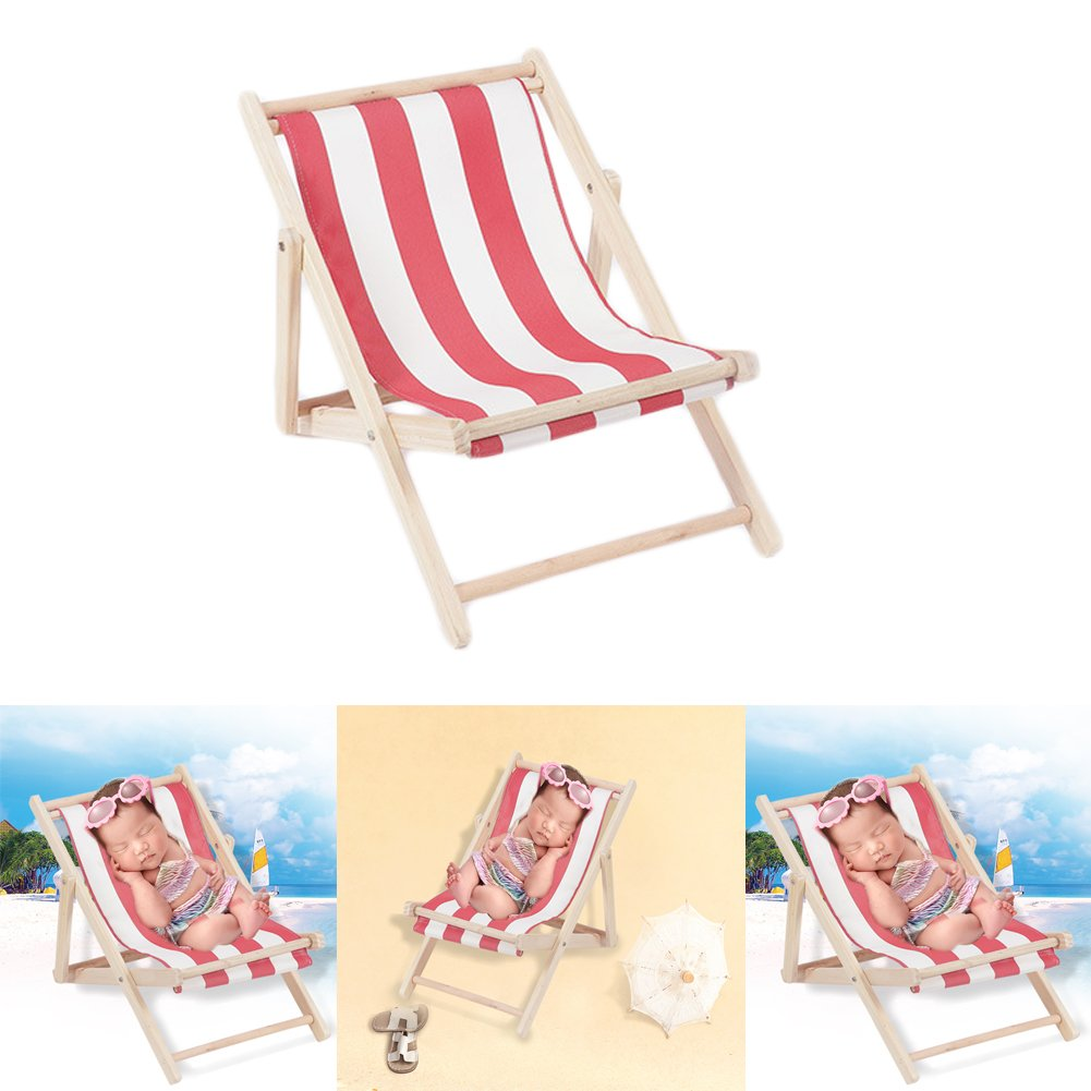 Zeroest Baby Photography Props Small Sofa Newborn Photo Shoot Posing Prop Monthly Beach Chair