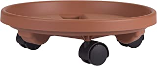 product image for Bloem Fiskars 95122C 12-Inch Round Plant Caddy, Color Terracotta