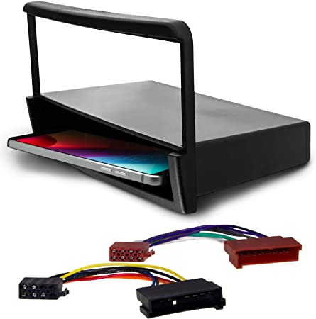 Adapter Universe Radio Blende Mit Ablage Rahmen Adapter Kabel Set 2in1 Für Ford