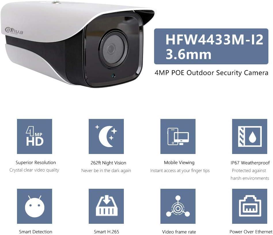 Camara De Seguridad Para Casas Profesionales Vision Noche 4 Outdoor// Indoor Impe