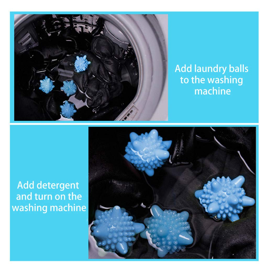 KEMPGW Home Storage, Home Sterilization Anti-Static Anti-Knotting Washing Machine Laundry Ball Storage Bins Cubes Baskets Shelves Containers Drawers Bags