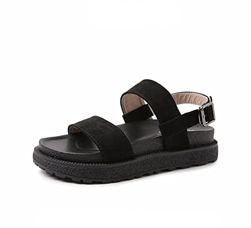 13a4f3c31cc4a Womens Sandals Girls Summer Walking Shoes Ladies Shoes Wild Buckle Open-Toe  Slippers and Flip