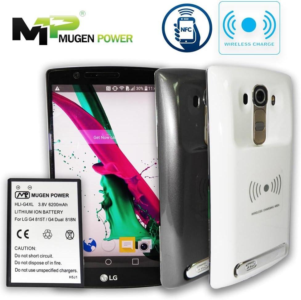 Mugen Alimentación - LG G4 815T / G4 Dual 818N 6200mAh batería ...