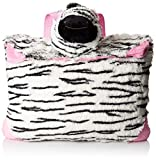 Pillow Pets Zippity Zebra Plush Backpack