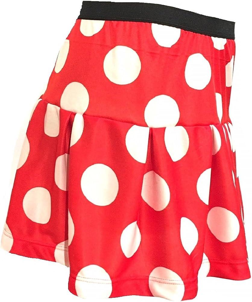 Falda para Correr con Lunares Rojos y Blancos para Mujer | Falda ...