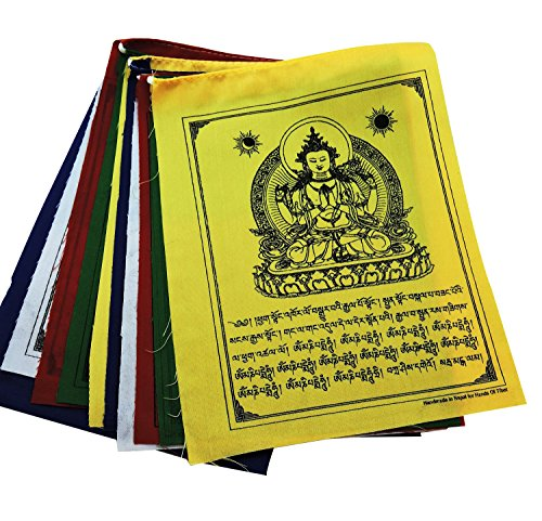 Buddha Compassion Tibetan Prayer Flags