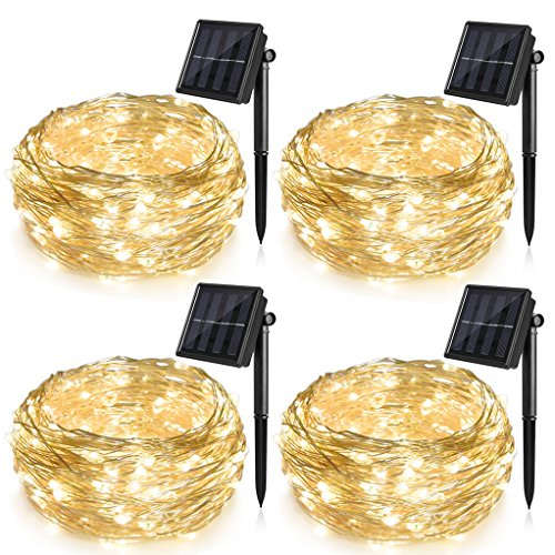 Outdoor Solar String Lights For Trees - 2