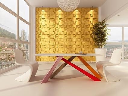 Panel Decorativo 3D Choc para paredes interiores, 100% ecológico ...