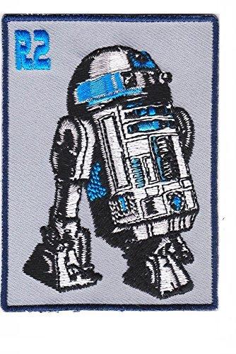 Star Wars R2 D2 Artoo Detoo Movie Game Cartoon Comic Logo Jacket Vest shirt hat blanket backpack T shirt Patches Embroidered Appliques Symbol Badge Cloth Sign Costume (R2d2 Hat)