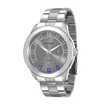 Relógio Masculino Mondaine Analógico - 78638GOMVNA1 - Prata  Amazon ... 3b16a232d2