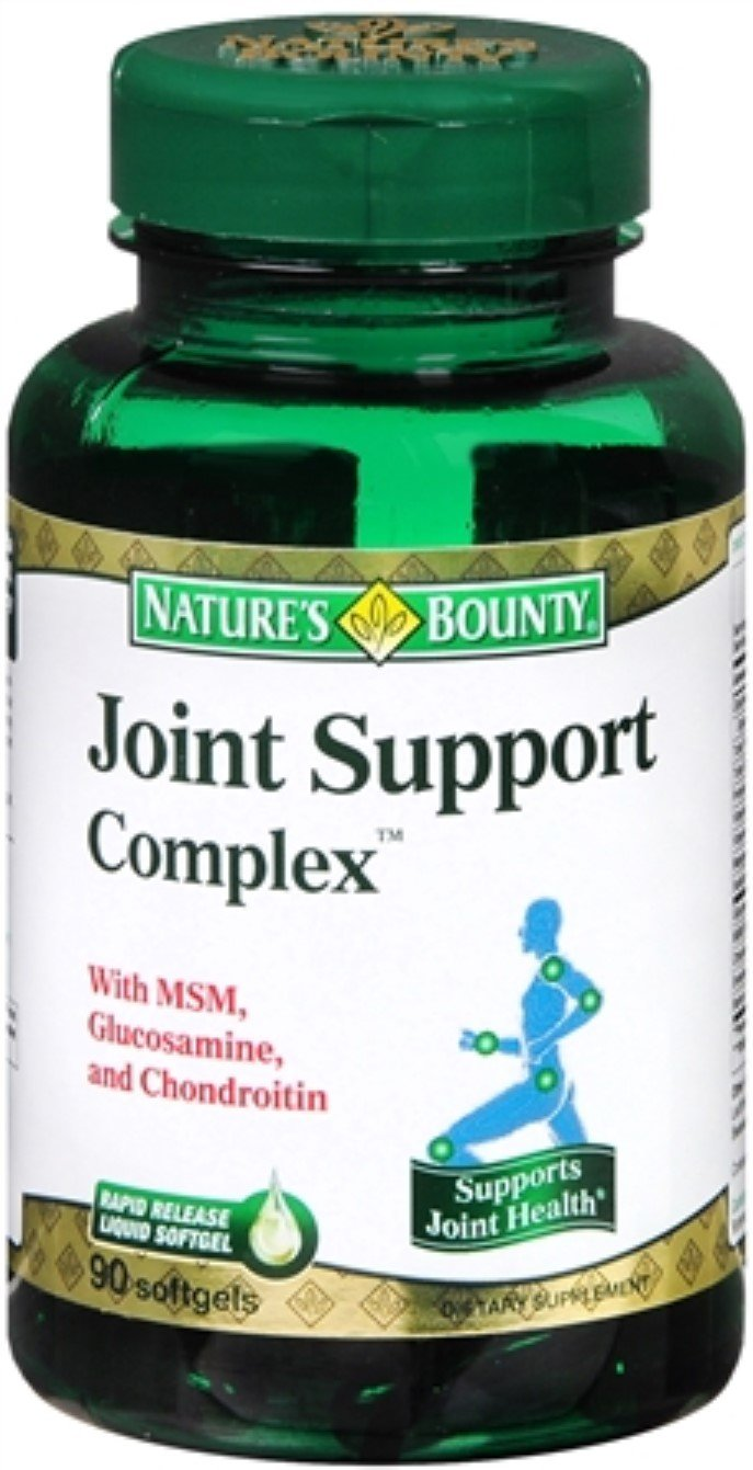 Nature's Bounty Joint Support Complex Softgels 90 Soft Gels (Pack of 5)