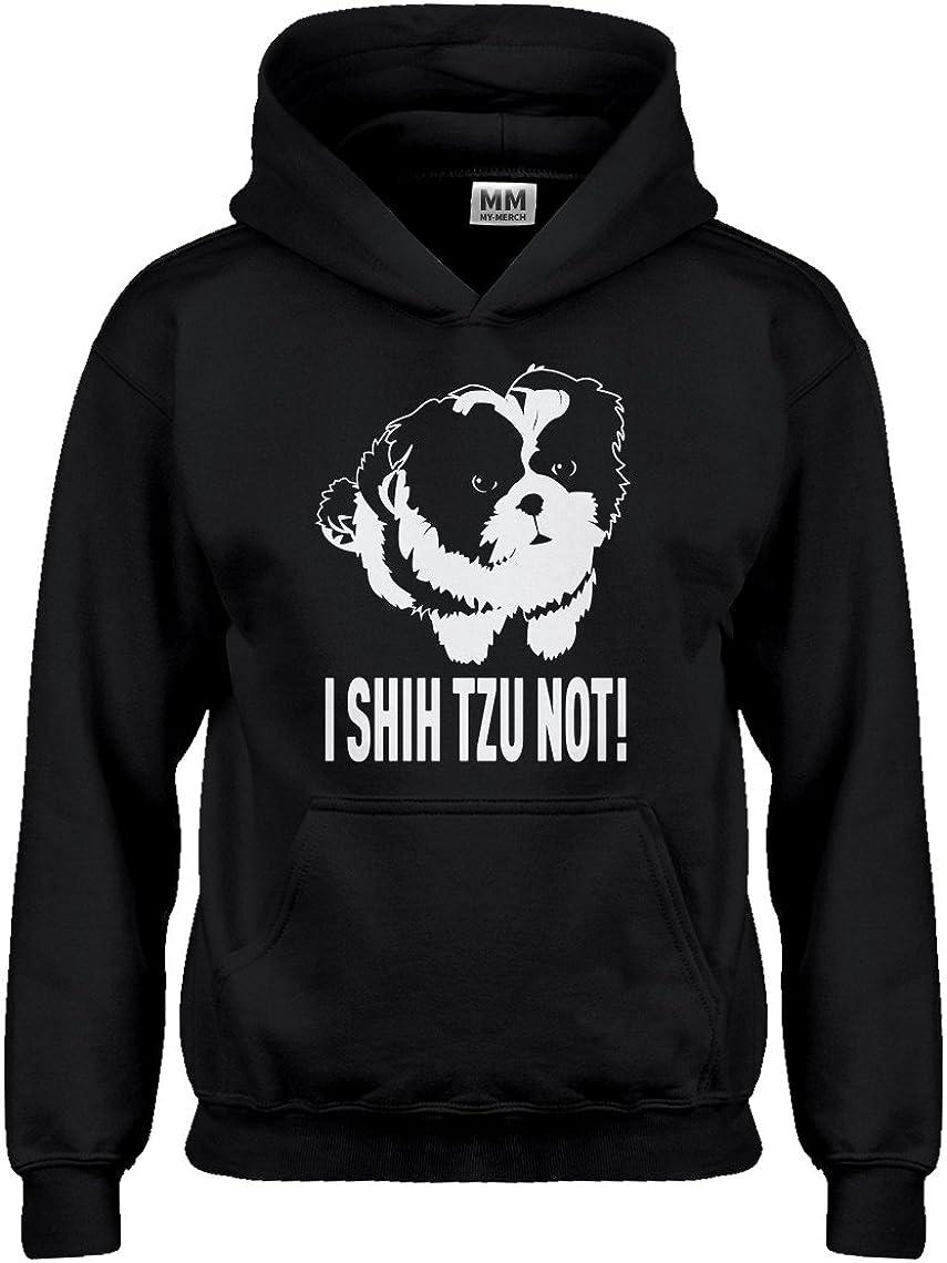 I Shih Tzu Not Hoodie for Kids