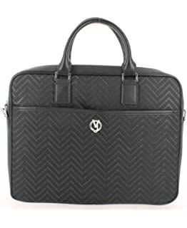 c07c8b91de Amazon.com  Versace EE1YSBB11 E899 Black Messenger Bag for Mens  Shoes