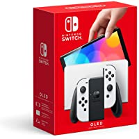 Nintendo Switch OLED Console with Joycon, color White