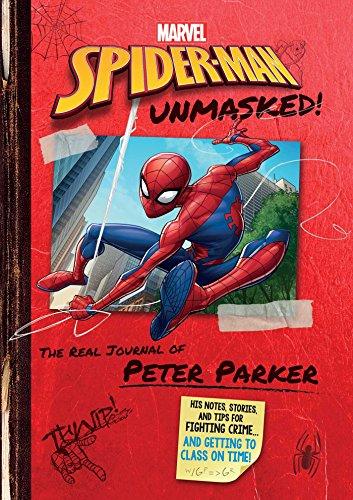 Marvel Spider-Man: Spider-Man Unmasked! (Replica Journal)