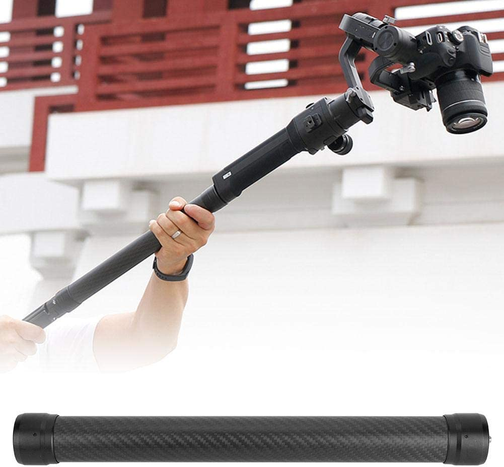 DH10 Handheld Stabilizer Extension Stick,Portable Durable Extension Stick with 1//4 Inch Screw and 1//4 Inch Screw Hole for DJI Ronin S Stabilizer