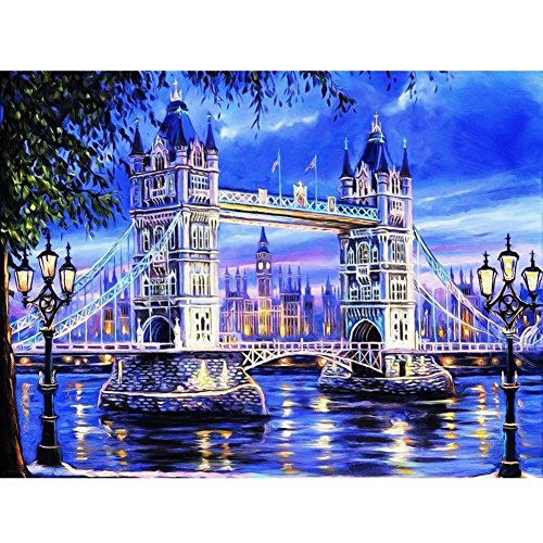 Tower Diamond Embroidery 5D Diamond DIY Painting Craft Home Decor - 5