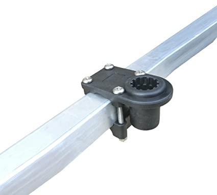 amazon com brocraft 1 1 4 square rail mount round rail mount