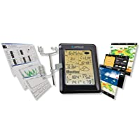 Weather Station Wireless WS1093 with Touch Screen & Internet Upload