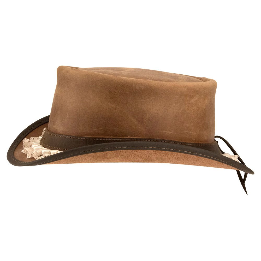 Amazon.com  American Hat Makers Marlow-Garter Band by Steampunk Hatter Leather  Top Hat 2f845674e91a