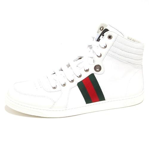 sneaker 5296O hombre GUCCI blanco shoe men Zapatillas para hombre Blanco Size: 42: Amazon.es: Zapatos y complementos