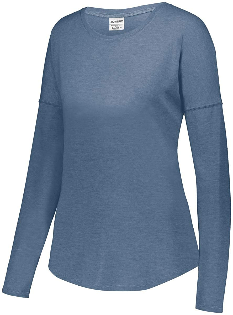 Augusta Sportswear Womens Lux Tri-Blend Long Sleeve Shirt