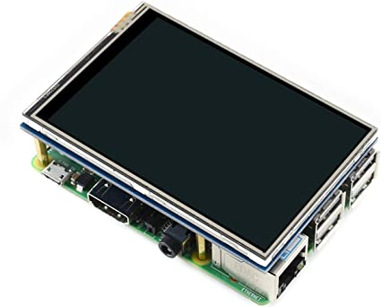 waveshare Raspberry Pi LCD Display Module 3.5inch 320X480 TFT Resistive Touch Screen Panel SPI Interface for Rapsberry-pi Model B//B+//2 B