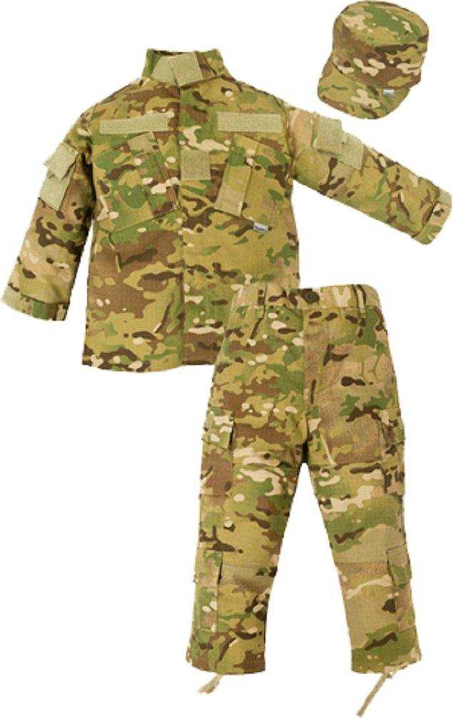 New Trooper 3 pc Children's US Military Multicam Combat Uniform Set XXS - XL (XSmall (2-4)) by Trooper Clothing
