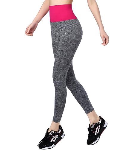 Qutool Pantaloni Sportivi da Yoga Leggings Collant Pantaloni