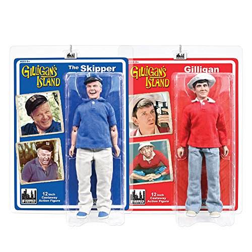 Gilligan's Island 12 Inch Action Figures Series One: Set of 2 Figures