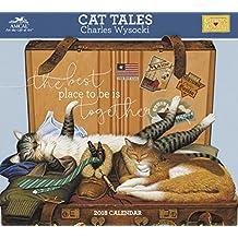 2018 Charles Wysocki Cat Tales Wall Calendar (AMCAL)