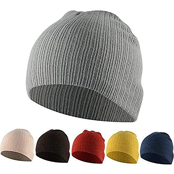 838b1ea8312 American Trends Kids Boys Girls Baggy Slouch Beanie Children Winter Cotton  Cap Warm Soft Knit Hat