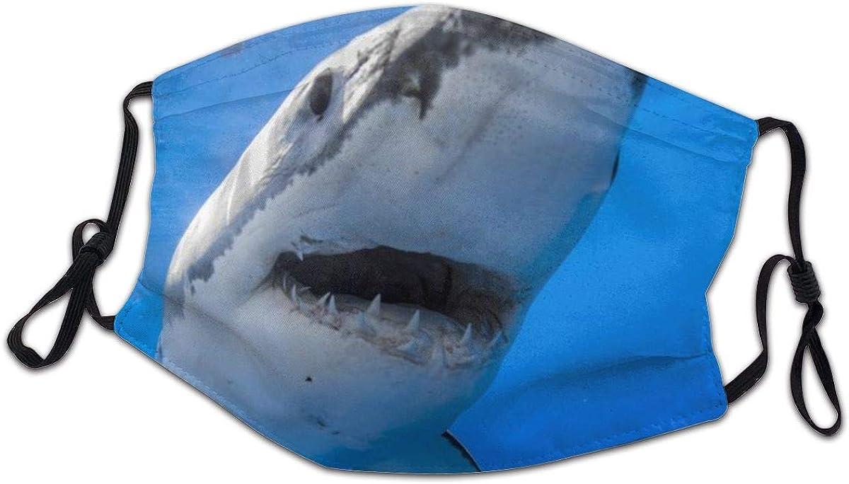 Great White Shark, Shark, Ocean Children Dustproof, Pollen and Spray Motorcycles Reusable 10 PCS